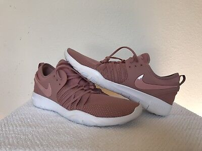 5d5ce3fe39f46 Wmns Nike Free TR 7 VII Rust Pink White Women Train Trainers 904651-604 Size