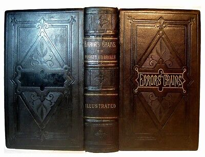 Occult Myth Magic Religion 1883 Pagan Gods Devil Worship Ornate Leather Binding