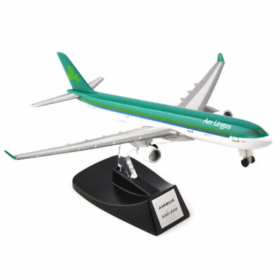13cm Aer Lingus Airbus A330-300 Airline Alloy Aircraft Model Toys F Collection