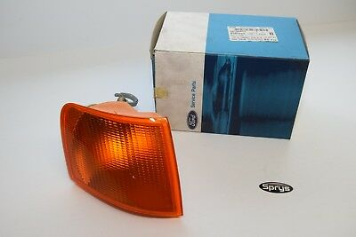 Genuine Ford Escort Mk5 Orion Mk3 Right O/S Front Indicator Lens 1017113