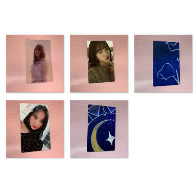 GFRIEND EUNHA Official PHOTOCARD 2nd Album TIME FOR US Photo Card Only Select