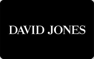 David Jones Gift Card Voucher ($20) redeemable at physical or online stores.