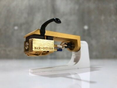 audio-technica DAM Headshell / AT33ML MC Cartridge Sold As Is Condition
