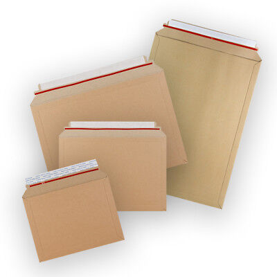 Strong Capacity Book Mailer Manilla Peel & Seal Envelopes All Sizes Cheap
