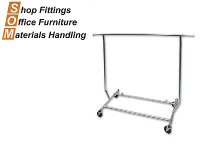 Salesman Rack Collapsible Clothing Display Stand