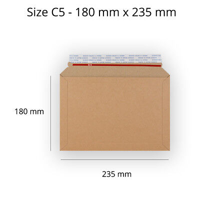 Best Quality Capacity Book Mailer Manilla Peel & Seal Envelopes C5 Size