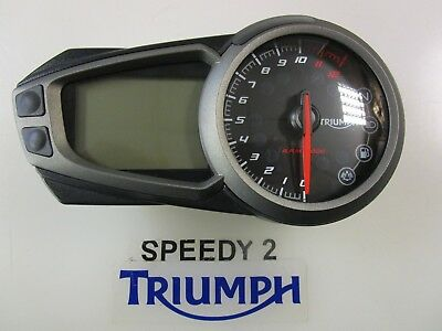 Triumph Speed Triple 1050 S & R Clock Speedo Instrument T2500874 Fits 2016 -2018