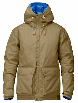 FJALL RAVEN Down Jacket N°16 men's jacket parka coat Size M Medium (rrp: $895)