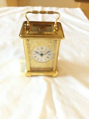 Bayard French 8-day CARRIAGE CLOCK.  In Good Condition But Requires A New Spring