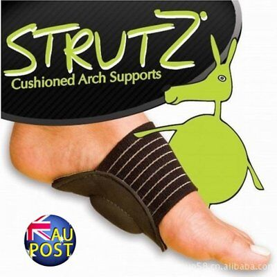 Foot Heel Pain Relief Plantar Fasciitis Insole Pads & Arch Support Shoes Insert@