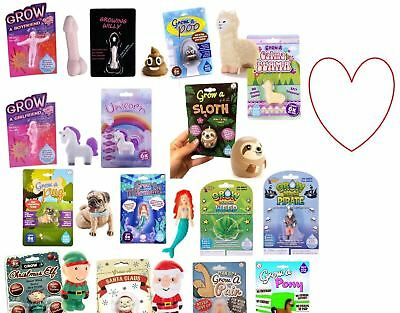 Novelty Grow Your Own Toys Gift Adults Children Fun