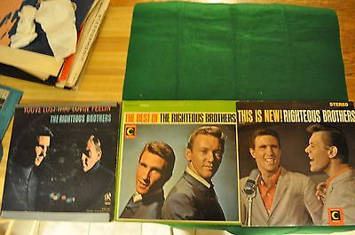 Righteous Brothers-This Is New!-Best Of-You've Lost That Lovin' Feelin' Lp's +