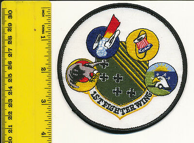 Original USAF Air Force Squadron patch Gaggle 1st FW F-15 Eagle