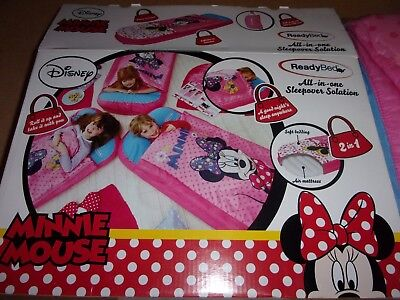 Disney Minnie Mouse Sleeping Bag By Ready Bed