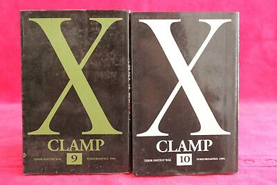 X, tome 9 et 10 - Clamp - Manga - Occasion