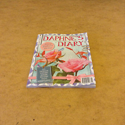 DAPHNE'S DIARY No.1 2019 VINTAGE GARDEN RECIPES MINFULNESS CREATIVE PROJECTS