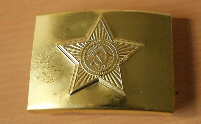 Genuine Russian USSR Uniform Military Army Metal Buckle Dress Up Party present