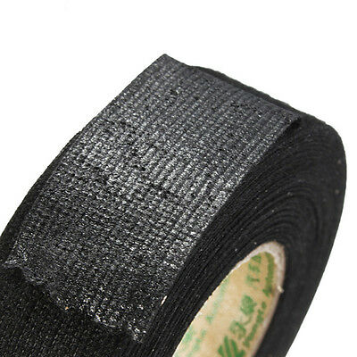 25x15m Coroplast Adhesive Cloth Tape For Harness Wiring Loom Car Wire Harness FF