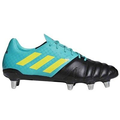 d27895797f6f NEW + TAGS   Adidas   Kakari Sg Black Wide Fit Rugby Boots Uk 8 Eur ...