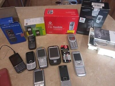 Joblot Bundle Of Mobile Phones (Retro?) Vintage