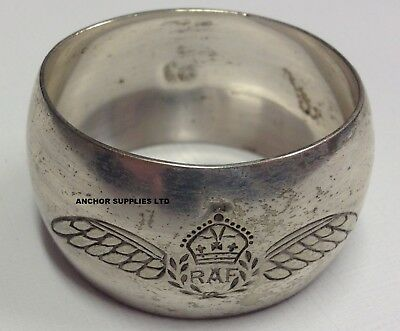 Genuine RAF Royal Air Force Napkin Ring Officers Mess (A1079)
