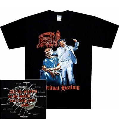 Official Licensed - Death - Spiritual Healing T Shirt Metal