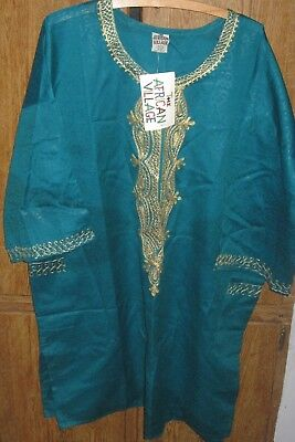 The African Village 2 pc Set Blouse pants, one size fits all