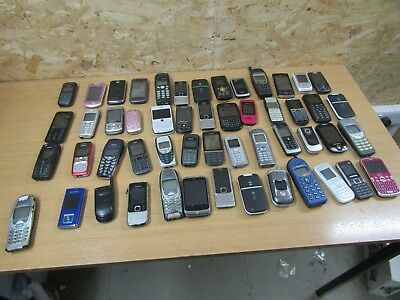 Mix Bundle Job lot of x52 Faulty Spares or Repair Phones For Parts
