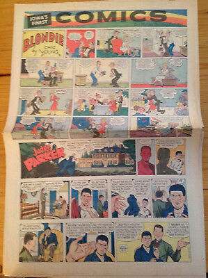 The Des Moines Sunday Register 1959-06-14 Dilly, Peanuts, D. Crane