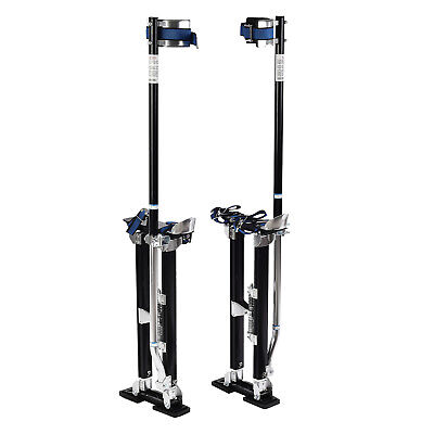 24-40 Inch Aluminum Drywall Stilts Tool Stilt For Painting Painter Taping Black