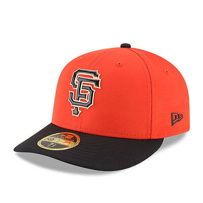 San Francisco Giants New Era Low Profile MLB Prolight Fitted Cap Size - 7 3/8