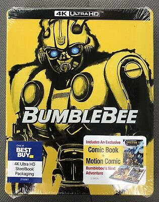 Bumblebee (4K UHD & Blu-ray discs, 2019) Best Buy Steelbook *NO DIGITAL CODE*