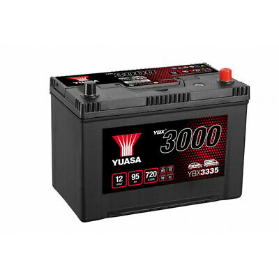 Batterie auto, voiture YBX3335 12V 90Ah 700A Yuasa SMF Battery 303X174X222mm G7