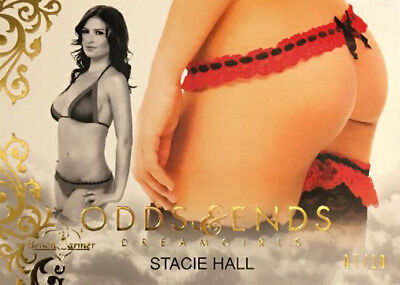 Stacie Hall 2018 Benchwarmer Odds & Ends Card /10  Dreamgirls Update  Butt Card