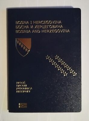 Passport Biometric Bosnia and Herzegovina YOUNG LADY Cancelled