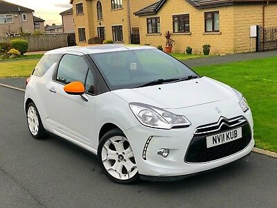 2011 Citroen Ds3 1.6 Hdi 90, Limited Edition By Orla Kiely, Only 34,000 Miles