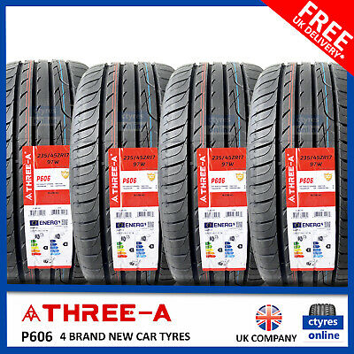 New 235 45 17 97W XL THREE A P606 235/45R17 2354517 *B WET GRIP* (2,4 TYRES)