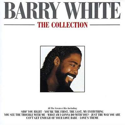 BARRY WHITE The Collection NEW SEALED CLASSIC SOUL R&B CD - LOVE SONGS