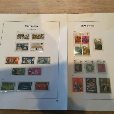 G.B. All of 1970 Commemorative Stamps Mint that year.