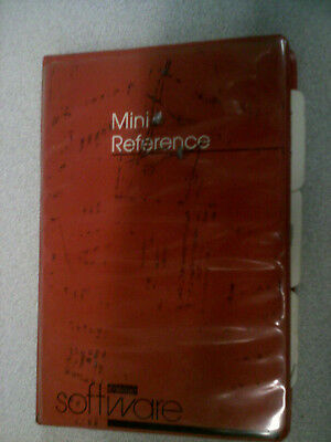 DEC, RSX-11, Mini Reference Manual