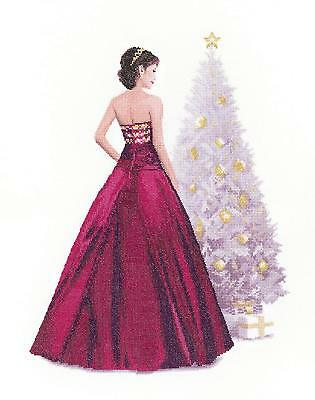 Heritage Crafts Holly John Claytons Elegant Ladies Counted Cross Stitch Kit New
