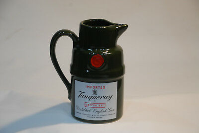 Imported Tanqueray Special Dry Distill English Gin Water Pitcher Liquor Barware