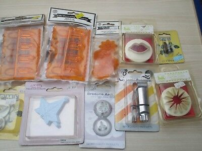 cake decorating cutters job lot old shop stock sealed/unused lot 5