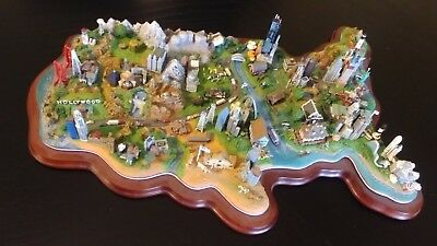 Vintage Danbury Mint - FROM SEA TO SHINING SEA - A U.S Landmark Sculpture - RARE