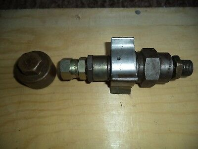 Exactor Sterling Tractor Hydraulic Coupling Brass Cap Trailer Male Female