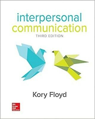 (PDF Download) Interpersonal Communication 3rd Edition Kory Floyd