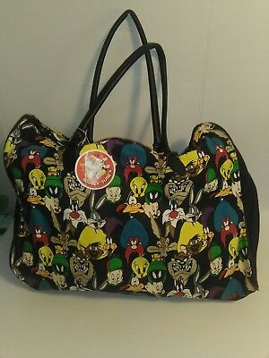 Looney tunes canvas carry all tote, Vintage, new