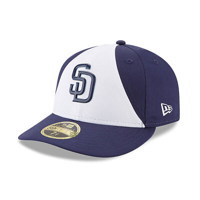 San Diego Padres New Era Low Profile MLB Prolight Fitted Cap Size - 7 3/8