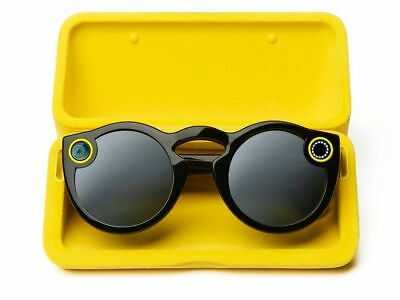 SNAPCHAT SPECTACLES - BLACK - Open Box - ACTIVATED - SMART SUNGLASSES!