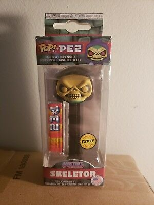 Funko Pop! Pez SKELETOR MOTU Masters Of The Universe CHASE !! IN HAND !!